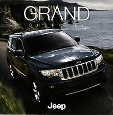 Jeep Grand Cherokee 2012 catalogue brochure tcheque Czech rare