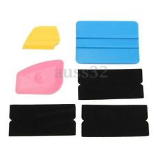 6x Squeegee Applicator Tool Felt Edge Decal Tip Vinyl Film Installation Wrap