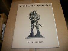 SUREALISITC FANTASIES of Paul Stinson Art Portfolio Signed #434/600