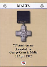 70th Anniversary of the Gorge Cross to Malta - Folder