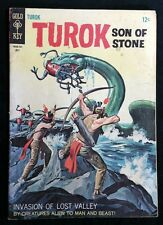 Turok Son of Stone Number 58 July 1967 Western Publishing