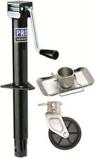 "Pro Series Round 2000 lbs. A-Frame Trailer Jack 14"" Lift W/ Footplate & 6"" Wheel"