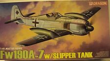 Dragon 1/48 Focke-Wulf Fw109A-7 Fighter Lutfwaffe WWII W/Etch Kit #5545 Started