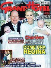 GRandHotel.Charlene Wittstock & Alberto II,Elisabetta Canalis,Mario Cipollini,ii