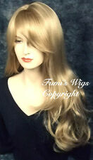 Silky Touch Long Loose Wavy Wig In Multi-Blonde From Fumi Wigs UK