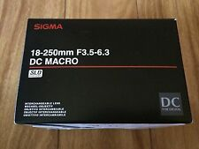 BRAND NEW Sigma 18-250mm F3.5-6.3 DC Macro HSM for Sony Alpha 883-205