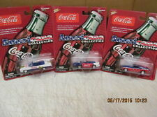 Johnny Lightning Lot of  3 Coca Cola Americana Collection 1:64 Diecast