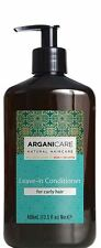 Arganicare Leave In Conditioner For Curly Hair Organic Argan Oil 400ml