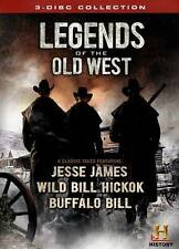 Legends of the Old West [3 Discs] DVD Region 1 WS History.COM  / LOW SHIPPING