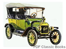 Ford Model T Cars Trucks Repair Manuals Handbook & History 8 Books on CD
