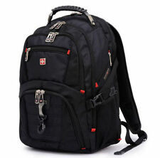 15.6' Laptop Swiss gear Backpack Computer School Rucksack Bag Men Travel Large!