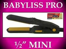 "NEW BABYLISS PRO 1/2"" CERAMIC TOOLS TRAVEL MINI 420° HAIR STRAIGHTENER FLAT IRON"