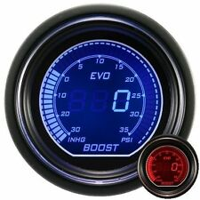 52mm Autogauge EVO Series Digital Led Boost Gauge Red / Blue PSI