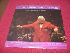 Arthur Fiedler & Boston Pops Orchestra ‎– Great Moments  LP  BRAND NEW SEALED