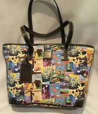 Disney Epcot Food and Wine Festival 2016 Dooney And Bourke Large Shopper Tote