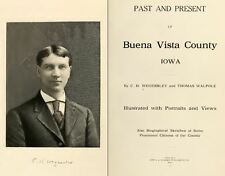 1909 BUENA VISTA County Iowa IA, History and Genealogy Ancestry Family DVD B38
