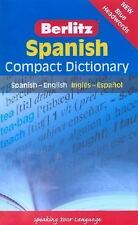 Spanish Compact Dictionary: Spanish-English Ingles-Espanol Berlitz Compact Dict