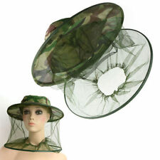 Head Face Protector Hat Cap Bug Bee Insect Mosquito Fly Resistance Net Mesh IT
