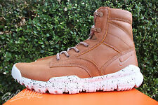 "NIKE SFB 6"" BOMBER SZ 8 COGNAC LIGHT BONE SNEAKERBOOT WATERPROOF 862506 200"