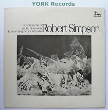 UNI-75016 - SIMPSON - Symphony No 3 HORENSTEIN London SO - Ex Con LP Record