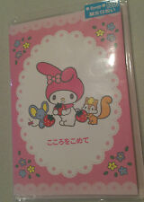 Authentic Sanrio Japan MY MELODY 2003 Birthday Card  MINT -  JAPAN ONLY