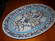 """""""Expressions"""" Hand Painted Hanging Platter"""