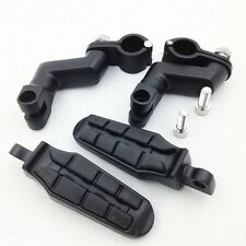 """1"""" Front Rider Tombstone offset Mount Clamp Foot peg for TRIUMPH ROCKET 3 2300CC"""