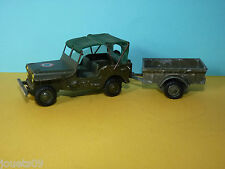 Jeep Willys  militaire Gevarm FJ France Jouets 1/43