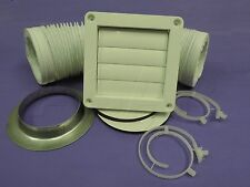 DRYER VENT KiT thru wall  GENUINE SUITS late model Simpson,Westinghouse. DVK005K