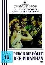 Durch die Hölle der Piranhas, Treffpunkt Honduras- Glenn Ford, Ann Sheridan DVD