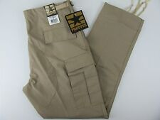 NEW Mens Propper Public Safety Button Fly Beige Tactical Cargo Pants Large Long