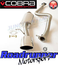 "SE08 Cobra Seat Leon Cupra R MK1 Stainless Exhaust System 2.5"" Cat Back Non Res"
