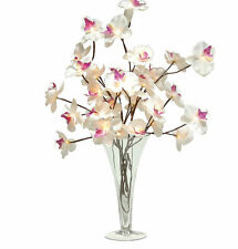 Butterfly orchids fairy lights artificial flowers LED lights REDUCED