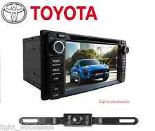 "6.2"" 2 Din Stereo Car DVD Radio GPS Navi WIFI BT For Toyota Corolla Camry+CAMERA"