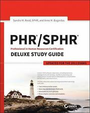 PHR / SPHR Professional in Human Resources Certification Deluxe Study Guide...