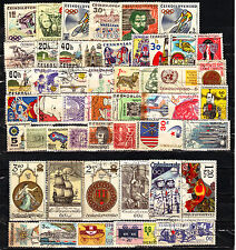 Ceskoslovensko (Europe)-50 Diff. Used Good Condition Stamps #F14