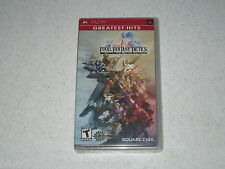 Final Fantasy Tactics The War of the Lions Greatest Hits Sony PSP Unopened