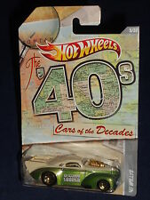 Hot Wheels   Wal-Mart Exclusive 2011 Cars Of The Decades 1940s  '41 Willys