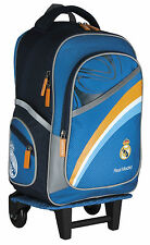REAL MADRID RONALDO GRAND SAC A ROULETTE TROLLEY SAC A DOS CARTABLE FOOTBALL