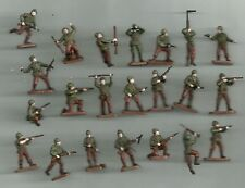 1/72 20mm Painted Soldiers WW2  US MARINES  x 22