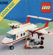 LEGO Town CLASSIC TOWN 6356 Med-Star Rescue Plane LEGOLAND  NEW Sealed
