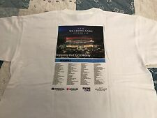 """NEW MEADOWLANDS """"MetLife"""" STADIUM """"TOPPING OUT CEREMONY"""" SKANSKA T-SHIRT XL"""