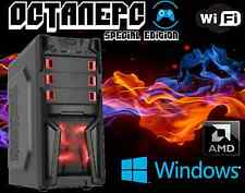 *NEW* AMD FX 8320 4GHz 8-Core Desktop PC~16GB DDR3~120GB SSD+1TB~HDMI~Windows 7