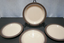 "LOT of Four HORNSEA England CORAL 7 7/8"" Salad  Plates EXCELLENT+"