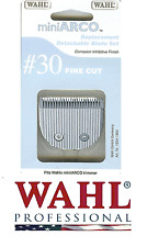 GENUINE WAHL REPLACEMENT # 30 FINE BLADE Set For MINI ARCO Trimmer Clipper*NEW