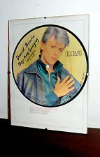 "BOWIE PICTURE DISC SPAGNA  MEGARARE '77 - 45 RPM 7""  BOYS KEEP SWINGING (LODGER)"