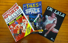 Back To The Future Sports Almanac + Tales From Space + Oh Lala - Free Shipp