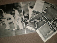 Photo article New Zealand Cricket team arrives in UK 1965 ref BW