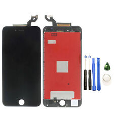 Black LCD Display Touch Screen Digitizer Frame Assembly+Tools For iPhone 6S Plus