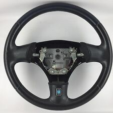 Mazda MX-5 special edition,genuine Nardi steering wheel. Blue and black leather